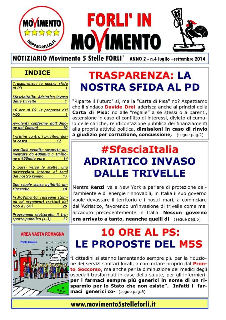 4 Notiziario M5S FORLI luglio - settembre 20141