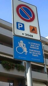 stupidità parcheggio