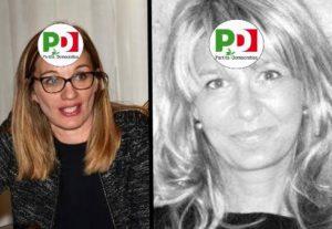 a sinistra l'assessore Francesca Gardini, a destra la cognata Serena Nesti