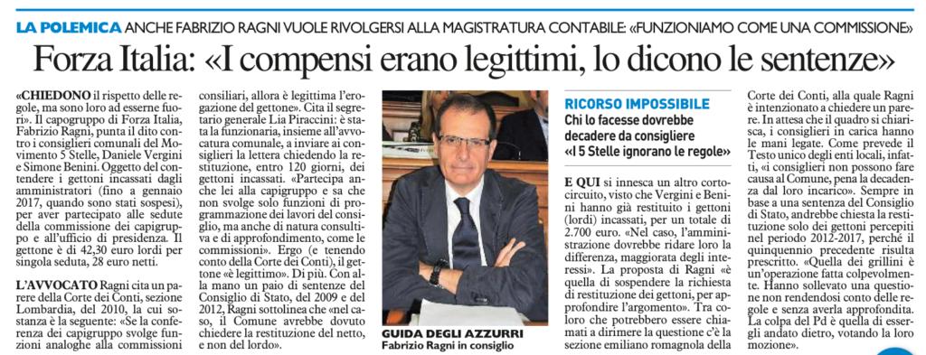 2017-09-16 - carlino - forza italia i compensi erano legittimi lo dicono le sentenze
